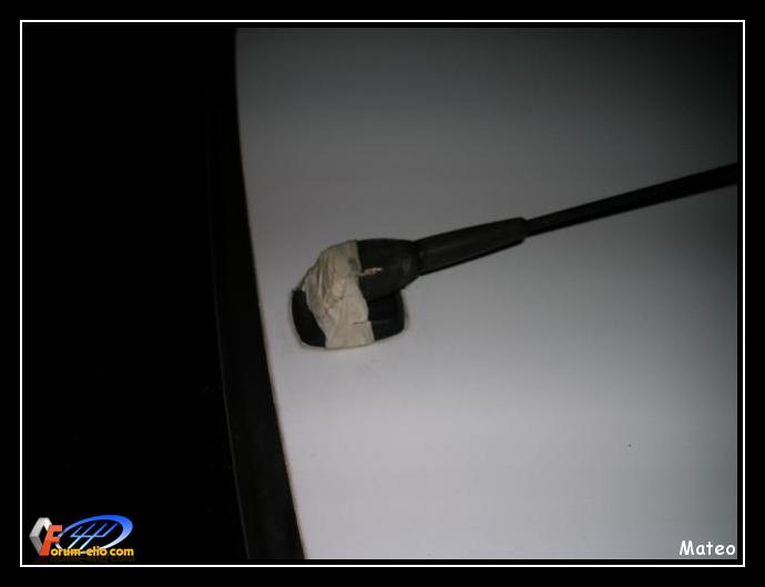 comment demonter antenne clio 2